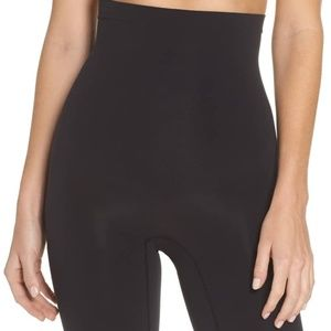 Spanx High Waisted Mid Thigh Shaping Shorts C
